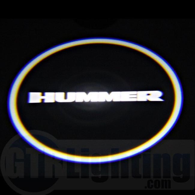 GTR Lighting LED Logo Projectors, Hummer Logo, #37