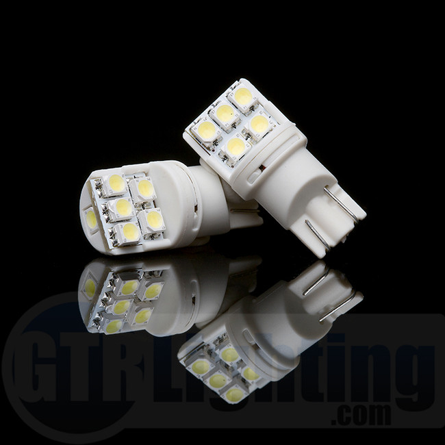 GTR Lighting T10 / 194 / 168 Twist Style LED Bulbs