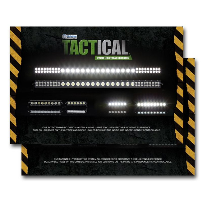 GTR Lighting Tactical LED Light Bars Poster