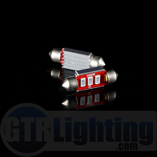 GTR Lighting 36mm CANBUS Festoon LED Bulbs
