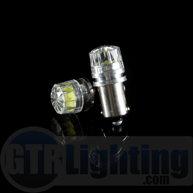 GTR Lighting Crystal Lens Diffuser H6 / BA9S LED Bulbs