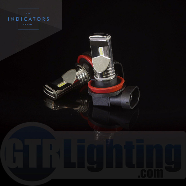 GTR Lighting Fog / DRL Ultra Series H11/ H8 / H9 LED Bulbs