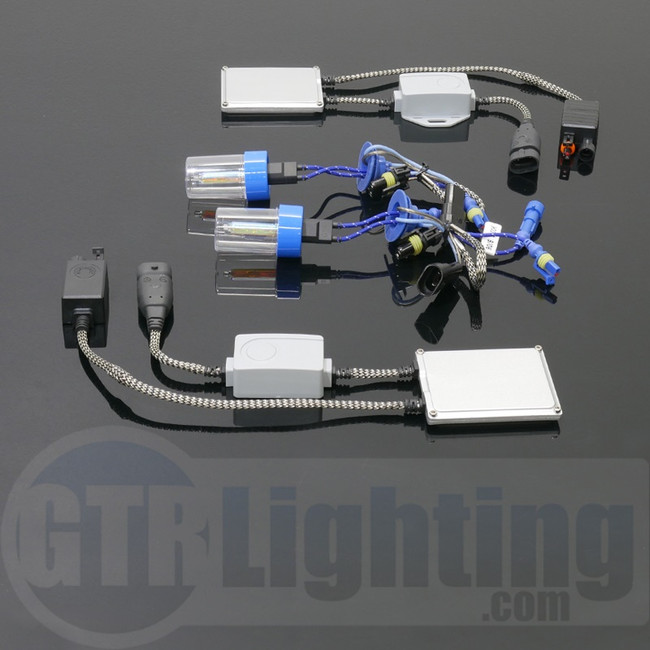 GTR Lighting 35W Slim PWM/CANBUS Single Beam HID Conversion Kit - 5th Generation