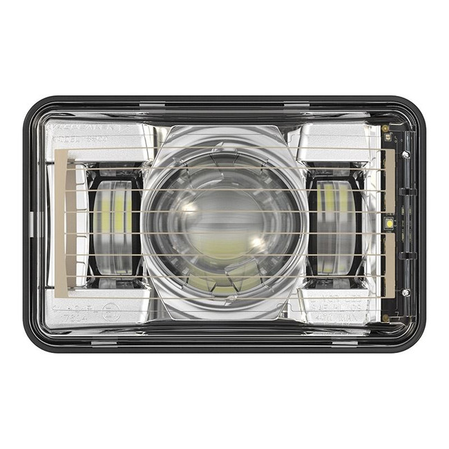 "JW Speaker 8800 Evolution-2 LED 4x6"" High Beam Headlight Heated - Chrome"