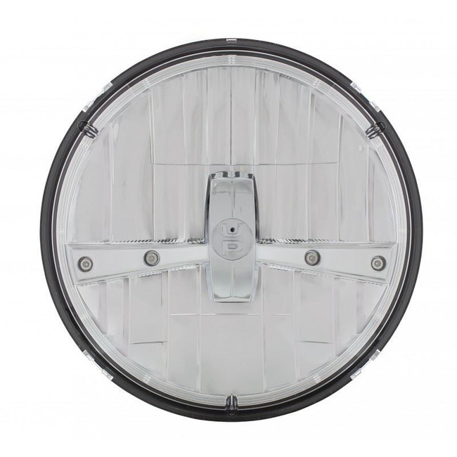 """United Pacific 31400 7"""" Round Chrome LED Reflector Headlight"""