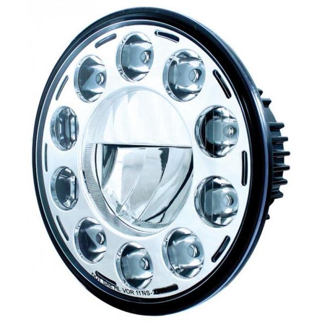 "United Pacific 31355 Chrome 7"" Round 11-LED Headlight"
