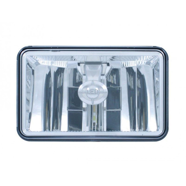 "United Pacific 31397 4x6"" LED High Beam Reflector Style Headlight"
