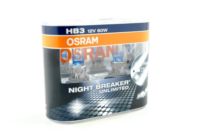 9005 Halogen: Osram Nightbreaker Unlimited