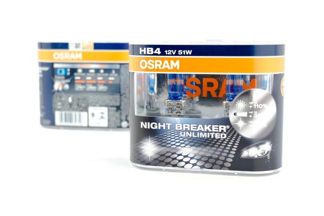 9006 Halogen: Osram Nightbreaker Unlimited