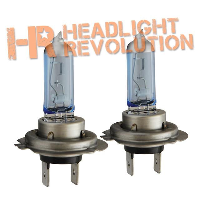 Vision X H7 55 WATT HI OR LOW DOT APPROVED SUPERWHITE BULB SET