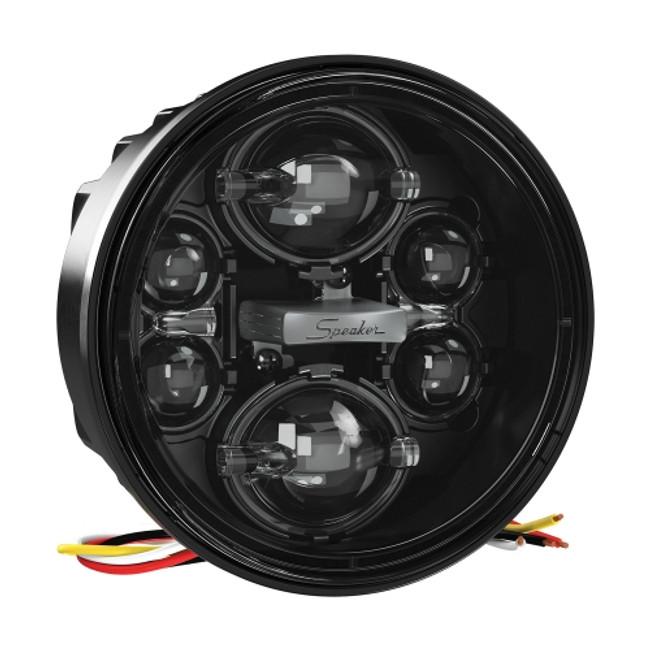 """JW Speaker Model 6130 Evolution 4.75"""" Round LED High Beam Only Headlight"""