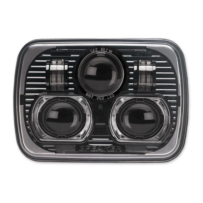 """JW Speaker 8900 Evolution LED 5x7"""" Headlight - Black"""