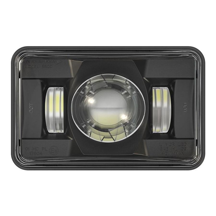 """JW Speaker 8800 Evolution 2 LED 4x6"""" High Beam Headlight - Black"""