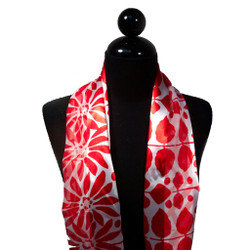 Lovely Floral and Stem Print Scarf