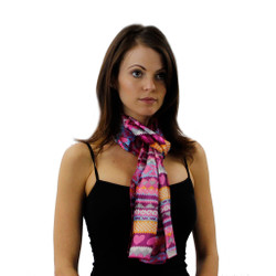 Love Me Knot Heart Scarf for Ladies