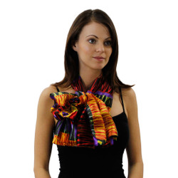 Wild Side Bright Patterned Scarf in 3 Color Varieties