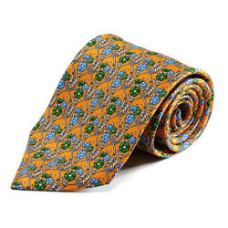 100% Silk Handmade Gallant Garden Tie