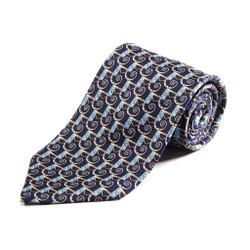100% Silk Handmade Jesters Sickle Tie