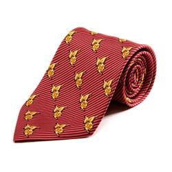 100% Silk Handmade Gilded Posie Tie