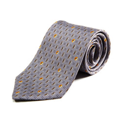 100% Silk Handmade Hexagonal Nut Tie