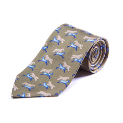100% Silk Handmade Thoroughbred Tie