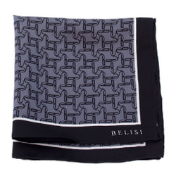 Private Jet Silk Pocket Square or Handkerchief by Belisi
