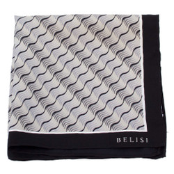 Commodities Silk Pocket Square or Handkerchief by Belisi