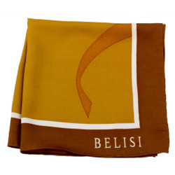 It Makes Cents Copper Silk Pocket Square or Handkerchief by Belisi