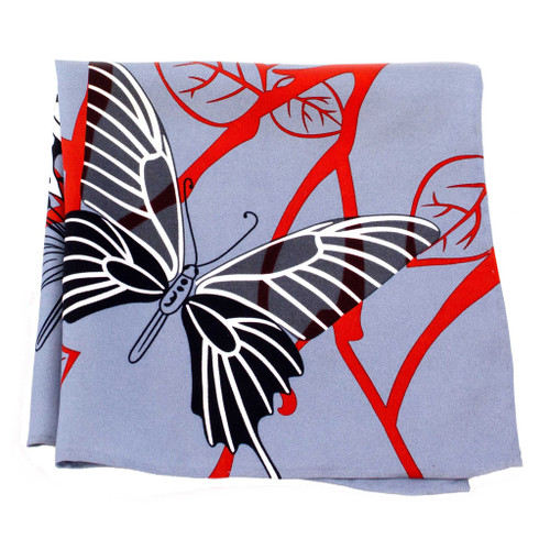 Bold Butterfly Silk Pocket Square or Handkerchief by Belisi