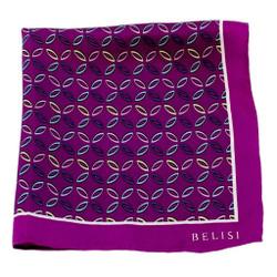 Pinwheel Pride Silk Pocket Square or Handkerchief by Belisi