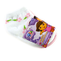 Dora the Explorer Infant Ankle Socks 3 Pair