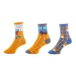 Happy Home Ladies Crew Socks Set of 3