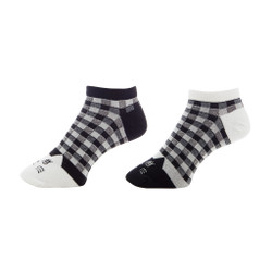 Tricksy Tux Ladies Cotton Cat Anklets Set of 2