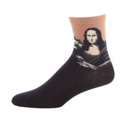 Masterpiece Ladies Cotton Crew Socks