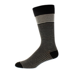Mens Select Stripe Dress Sock
