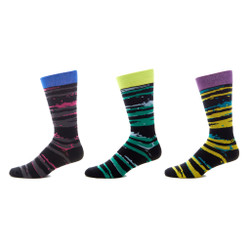 Thrill Seeker Mens Trouser Socks Set of 3
