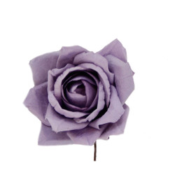Decorative Handmade Roses set of 12 in Lavender