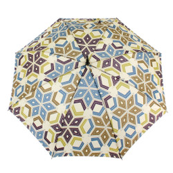 It is Pouring Patchwork Umbrella
