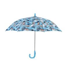 Shark Slam Childrens Umbrella with Fierce Shark Print Canopy