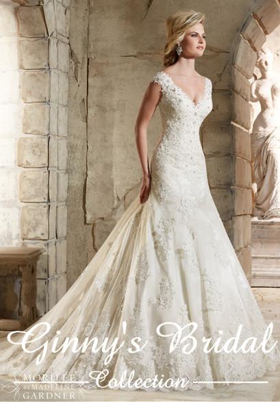 Mori Lee Wedding Dress 2785 at Affordable Price | Ginnys Bridal ...