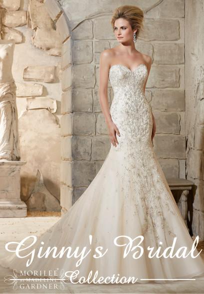 Mori Lee Wedding Dress 2790 at Affordable Price | Ginnys Bridal ...