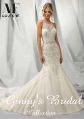 Angelina Faccenda Couture Bridal Gown by Mori Lee 1301