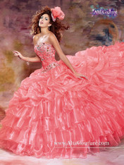 Alta Couture by Mary's Quinceanera Dress 4T127, Calypso, Size 14 on SALE
