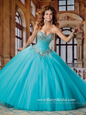 Beloving by Mary's Quinceanera Dress 4496, Capri, Size 14 on SALE