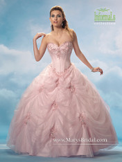 Mary's Quinceanera Dress 2720, Pink, Size 10 on SALE