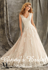 Angelina Faccenda Couture Bridal Gown by Mori Lee 1344