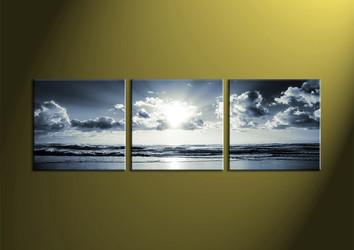 black and white prints, canvas wall art, sea wall art, sea artwork