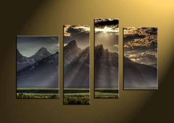 landscape art, mountain art, wall art, scenery huge canvas art, scenery canvas photography