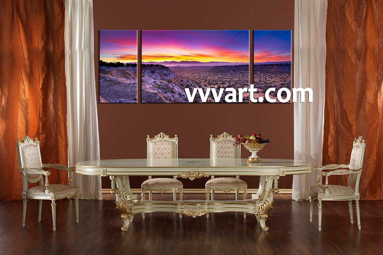 dining room artwork prints. Dining Room Art,3 Piece Canvas Art Prints,landscape Print, Desert Artwork Prints G
