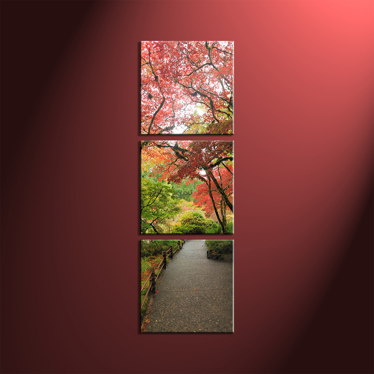 Home Décor, 3 Piece Canvas Wall Art, Forest Pictures, Scenery Canvas Art,